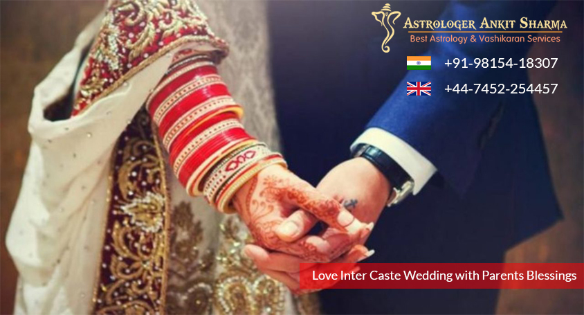 Case Study No. 24 - Get Your Spectacular Love Inter Caste Wedding With Parents Blessings! ( Intercaste Marriage Solution - Lalita and Pranjal )
