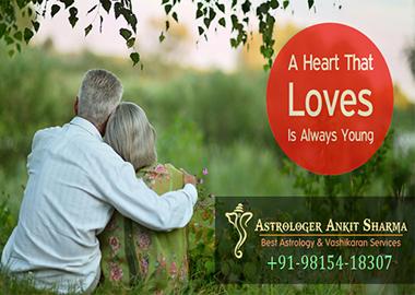 Love is always young. ( Deepak and Ritu )