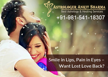 Smile in Lips, Pain in Eyes ( Lost Love Back by Astrology - Rahul and Pooja)