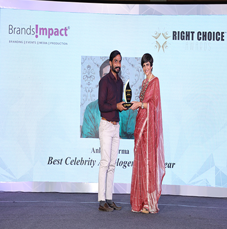 Best Celebrity Astrologer of the Year by the Brand Impacts Right Choice Awards 2021