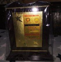 SAKSHAM-2016 AWARD By Jyotish Shakti Sangh