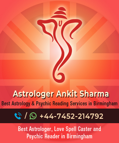 Best Indian Astrologer in Birmingham, West Midlands  | Call at +44-7452-254457