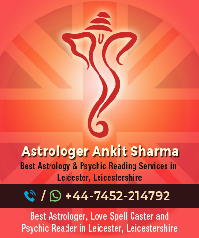 Best Indian Astrologer in Leicester, Leicestershire UK  | Call at +44-7452-254457
