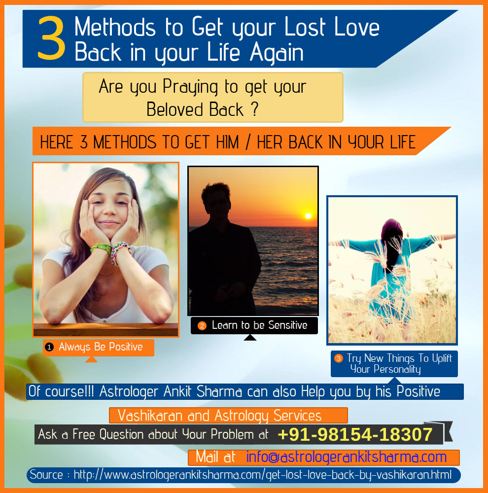3 Methods to Get Your Lost Love Back