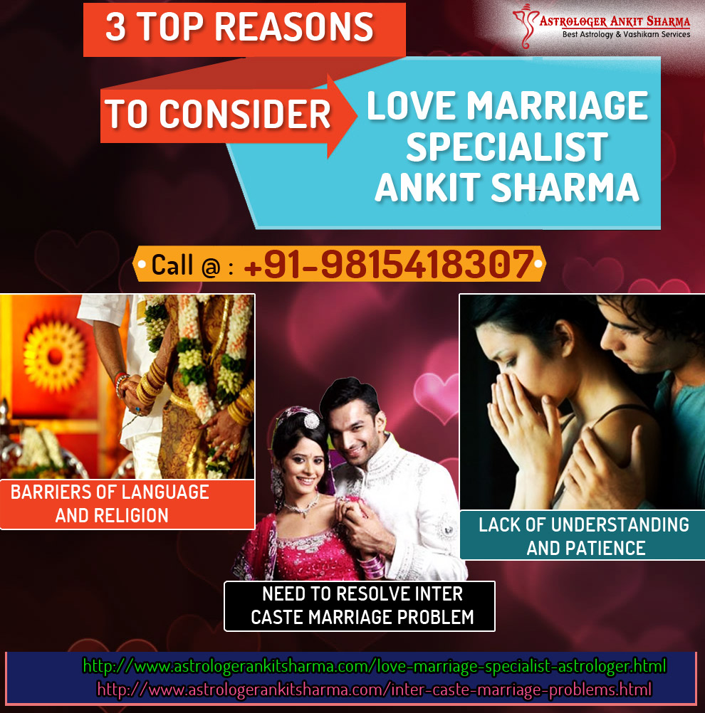 Reasons to Consider Love Marriage Specialist