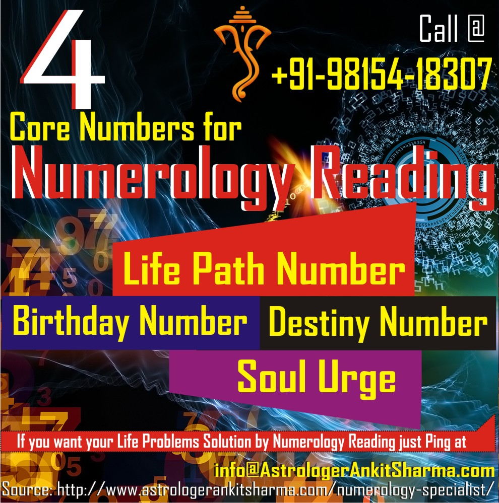 4 Crore Numbers for Numerology Reading