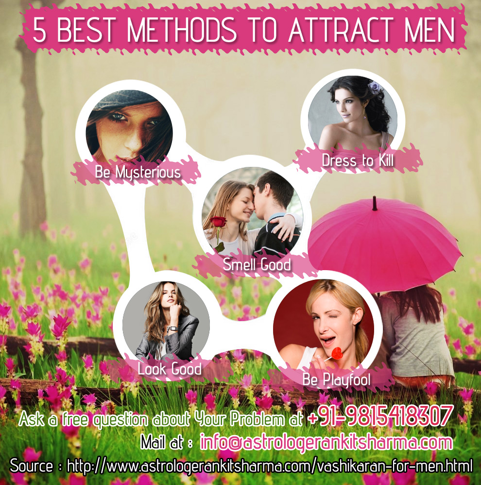 5 Best Methods to Attract a Men
