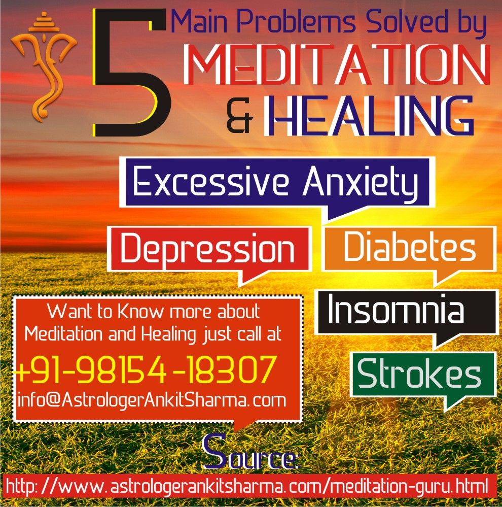 5 Main Problems Solved by Meditation and Healing