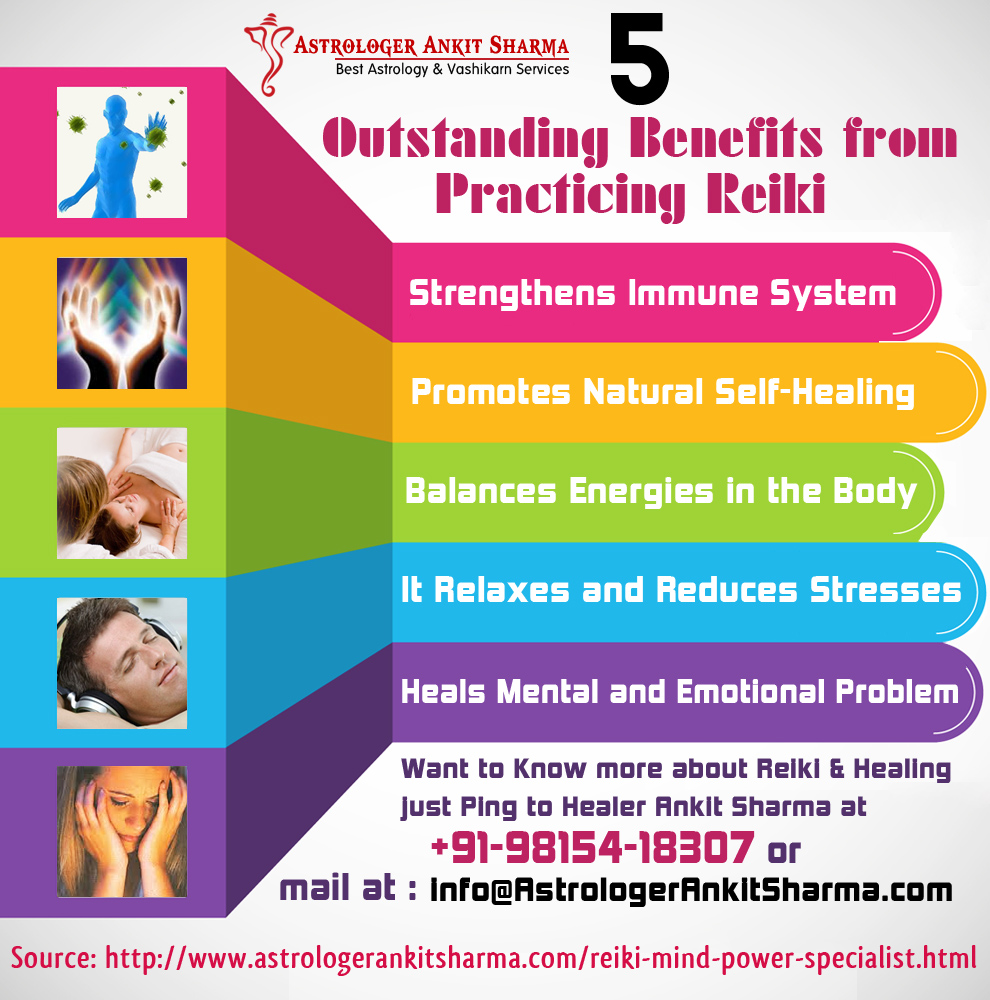 5 Outstanding Benefits from Practicing Reiki