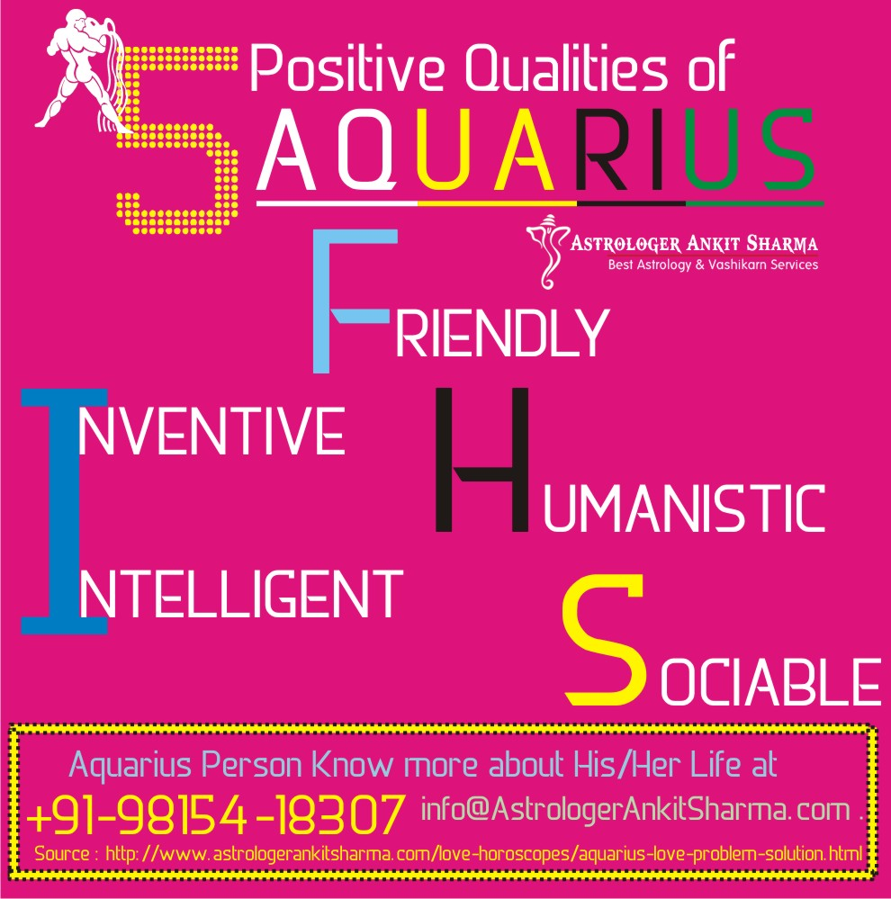 5 Positive Qualities of Aquarius