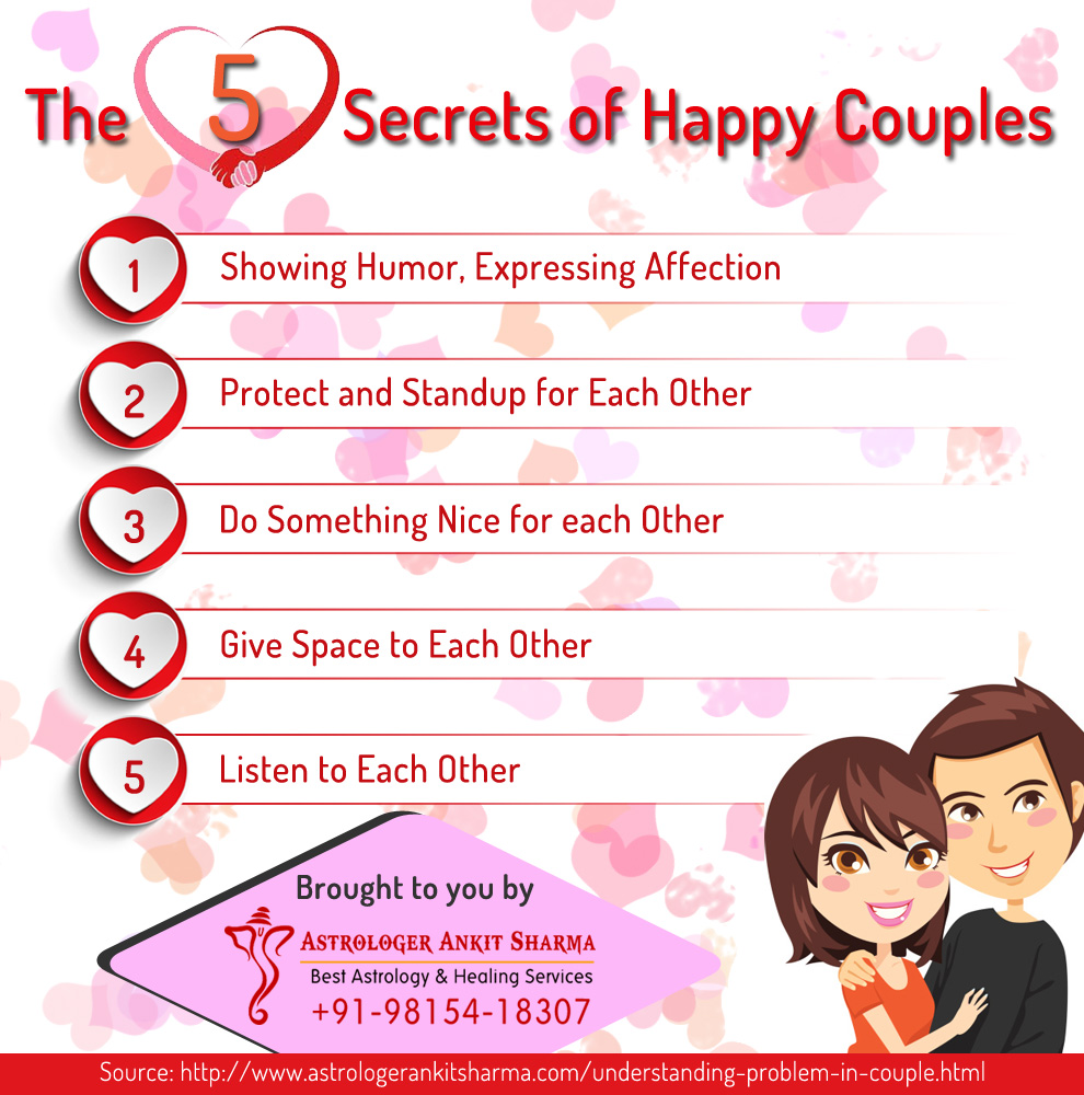 The 5 Secret of Happy Couples