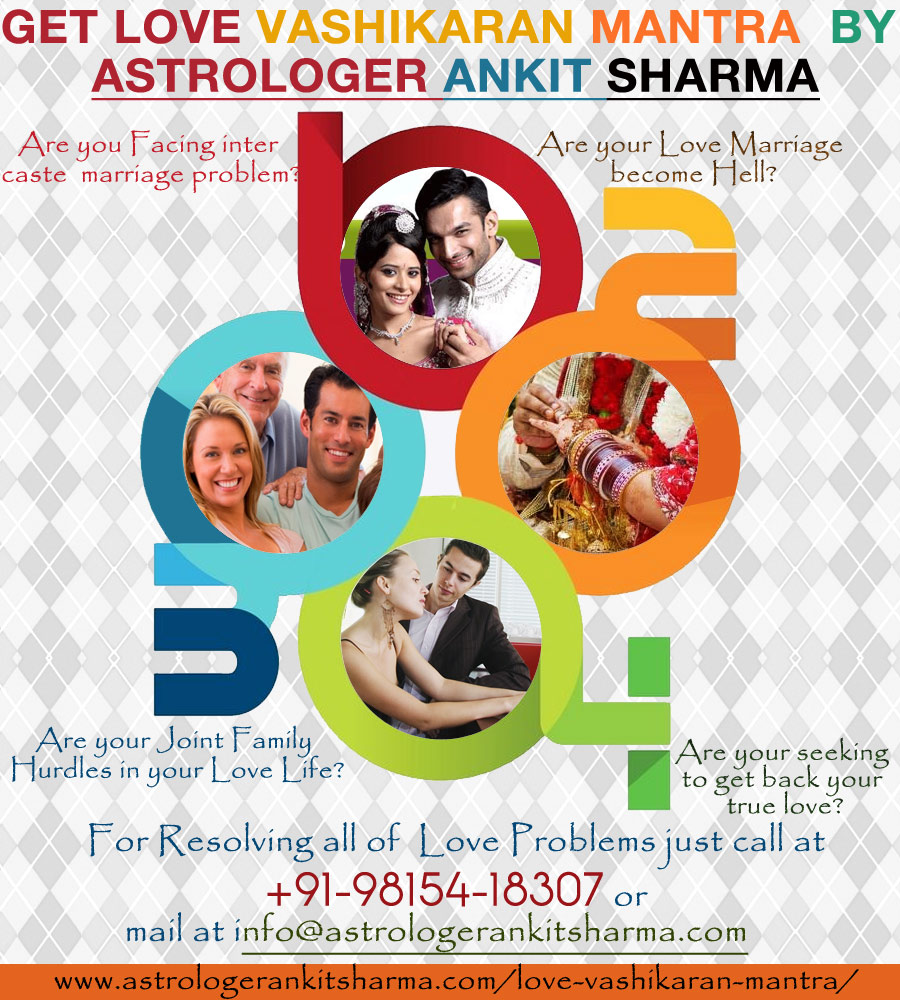 Love Vashikaran Mantra for Resolving Love Problems