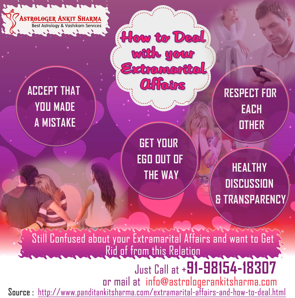 How to Deal with your Extramarital Affairs