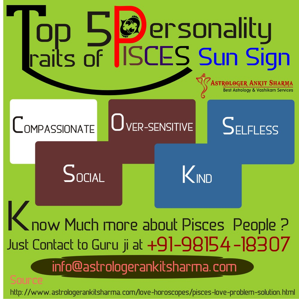 Top 5 Personality Traits of Pisces Sun Sign