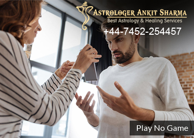 Play No Game with Me! (Love Problem Solution by Astrology)